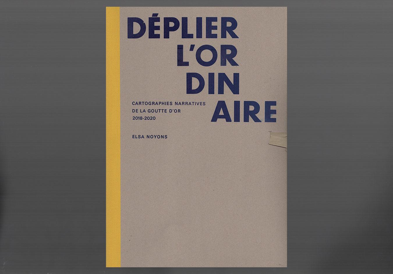Déplier l'ordinaire | Elsa Noyons | livre